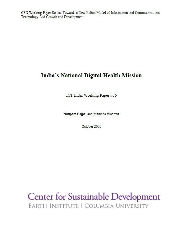 India's National Digital Health Mission