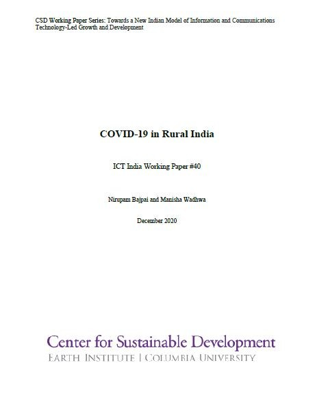 COVID-19 in Rural India