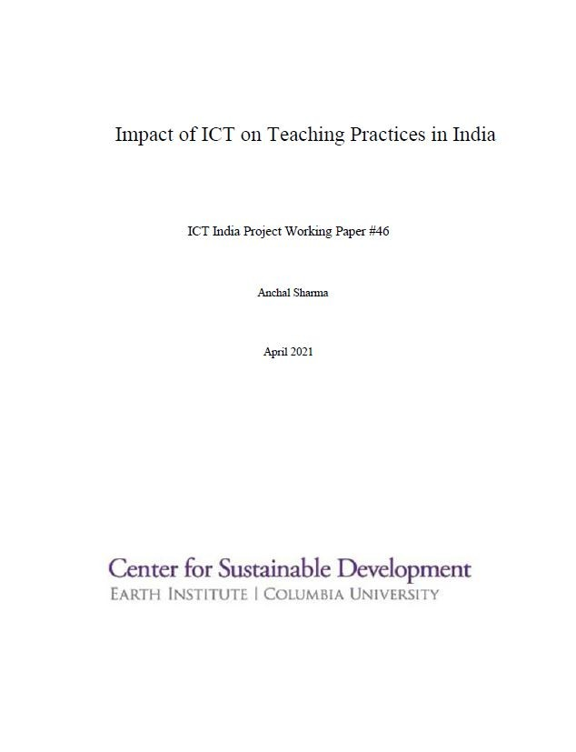 Impact of ICT on Teaching Practices in India