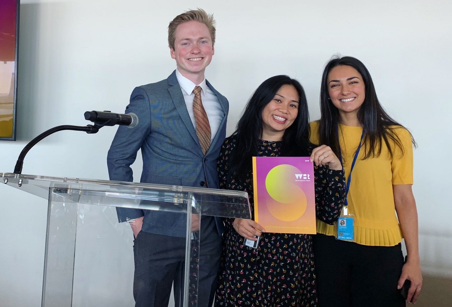 World Happiness Report 2019 - Launch at United Nations